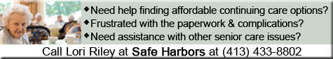 Safe Harbors provides consultation and assistance with continuing care planning. We can assist identifying suitable affordable independent living, assisted living or long term care facilities. We can act as health care advocate, provide for improved communication with nursing homes, rehab centers, insurance companies, Medicare, etc. and much more!